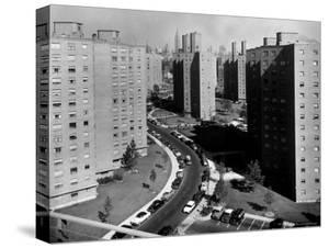 Peter Cooper Village And Stuyvesant Town Between 14th and 23rd Sts. on the East Side of the City by Margaret Bourke-White