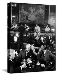 Pittsburgh Businessmen at Upscale Bar by Margaret Bourke-White