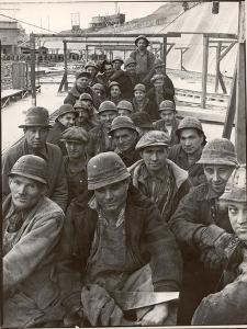 Pittsburgh Steel Workers by Margaret Bourke-White