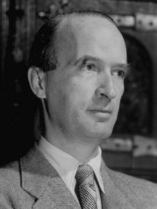 Portrait of Industrialist Alfred Krupp While under House Arrest for Alleged War Crimes by Margaret Bourke-White