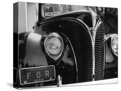 President Franklin Roosevelt's 1938 Ford Sedan