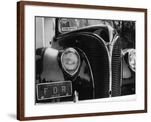 President Franklin Roosevelt's 1938 Ford Sedan by Margaret Bourke-White