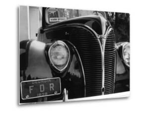 President Franklin Roosevelt's 1938 Ford Sedan by Margaret Bourke-White