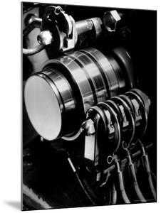 Ringing Machine that Governs the Ringing Bell in Telephones at NY Telephone Exchange Terminal by Margaret Bourke-White