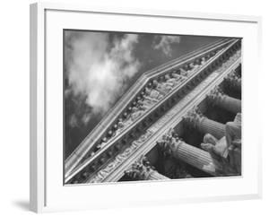 Sculptured Frieze of the US Supreme Court Building Emblazoned with Equal Justice under Law by Margaret Bourke-White