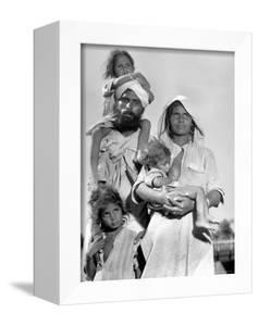 Sikh and His Family in Convoy Migrating to East Punjab After the Division of India by Margaret Bourke-White