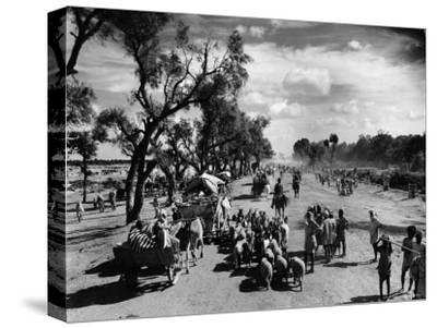 Sikhs Migrating to the Hindu Section of Punjab After the Division of India