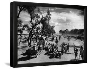 Sikhs Migrating to the Hindu Section of Punjab After the Division of India by Margaret Bourke-White