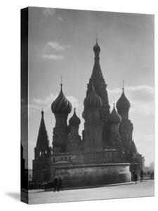 St. Basil's Russian Orthodox Cathedral in Red Square by Margaret Bourke-White