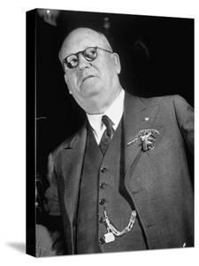 Union of South Africa Prime Min. Daniel F. Malan, Who Won on a Violent, Anti-Black Platform by Margaret Bourke-White