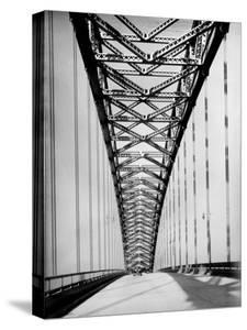 View Along the Bayonne Bridge by Margaret Bourke-White