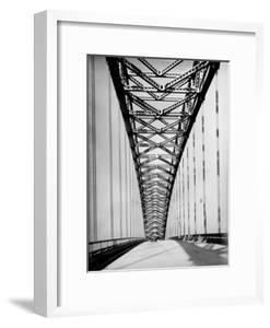 View Along the Bayonne Bridge by Margaret Bourke-White