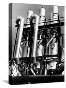 View of an Installation at a Texaco Oil Refinery by Margaret Bourke-White