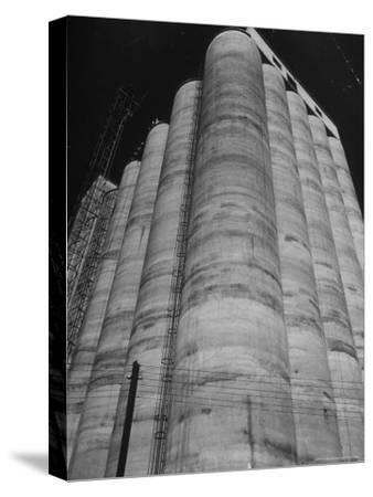 View of the Huge Elam Grain Co. Elevator