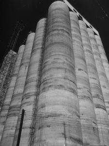 View of the Huge Elam Grain Co. Elevator by Margaret Bourke-White