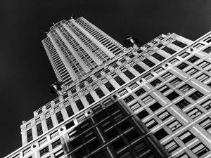Viwe of the Chrysler Building Which Housed Time Offices from 1932-1938 by Margaret Bourke-White