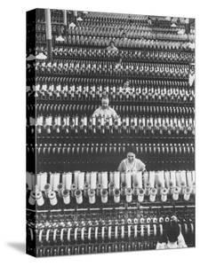 Workers at American Woolen Co by Margaret Bourke-White