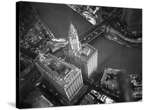 Wrigley Building in South Chicago. 1951 by Margaret Bourke-White