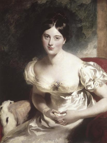 Margaret, Countess of Blessington-Thomas Lawrence-Giclee Print