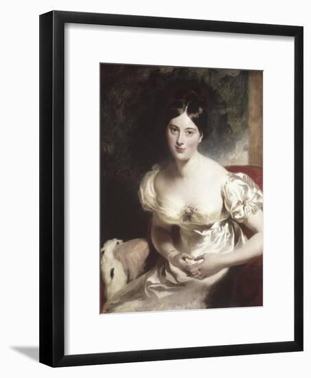 Margaret, Countess of Blessington-Thomas Lawrence-Framed Giclee Print
