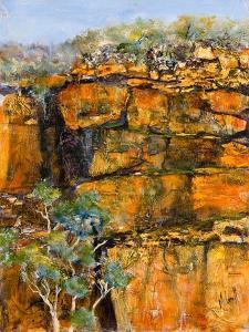 Cliff Face by Margaret Coxall