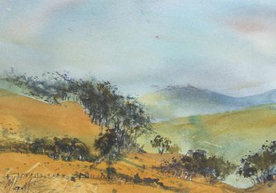 Distant Hills by Margaret Coxall