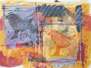 Funky Birds by Margaret Coxall