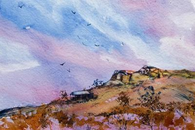 Rocky Outcrop by Margaret Coxall