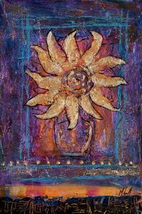 Sunflower, 2012 by Margaret Coxall