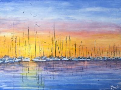 Sunset Harbour by Margaret Coxall