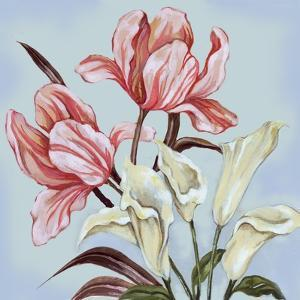 Pastel Floral II by Margaret Ferry