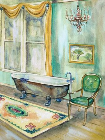 Robin's Egg Bath II