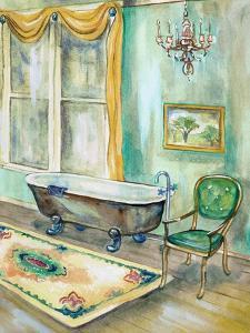Robin's Egg Bath II by Margaret Ferry