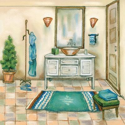 Tile Bath II