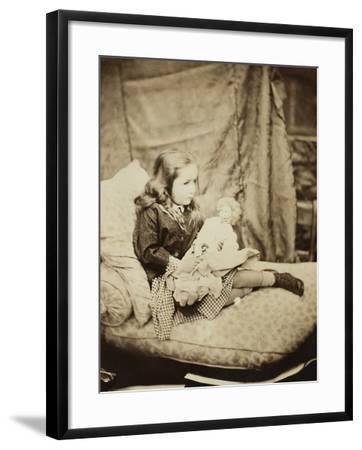 Margaret Frances Langton Clarke, September 1864-Lewis Carroll-Framed Photographic Print