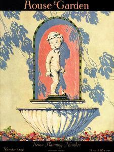 House & Garden Cover - November 1920 by Margaret Harper