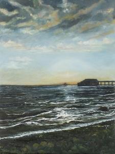 Brighton Pier: Sunset, 1996 by Margaret Hartnett