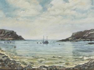 Lulworth Cove,1997 by Margaret Hartnett