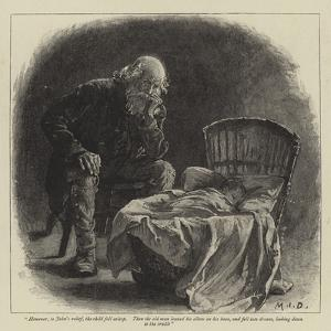 Illustration for John and Joan, a Coorious Story by Margaret Isabel Dicksee