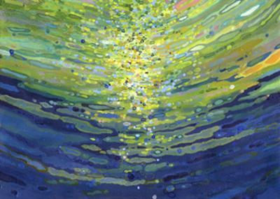 Coral Waves II by Margaret Juul