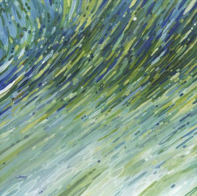Light Glimmering Waves (left) by Margaret Juul