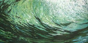 Seaweed on a Wave by Margaret Juul