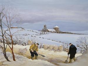 Clearing the Snow by Margaret Loxton