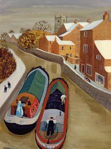 Narrow Boats by Margaret Loxton