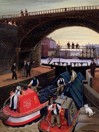 Regent's Canal Lock