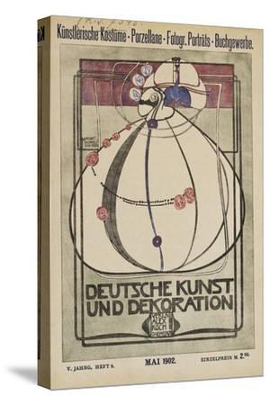 Cover of 'Deutsche Kunst Und Dekoration'
