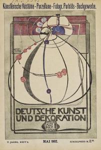 Cover of 'Deutsche Kunst Und Dekoration' by Margaret MacDonald