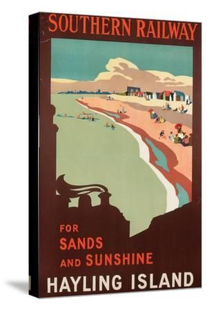 Hayling Island, Poster Advertising Southern Railway, 1923