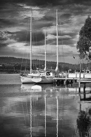 Huon River Yacht by Margaret Morgan