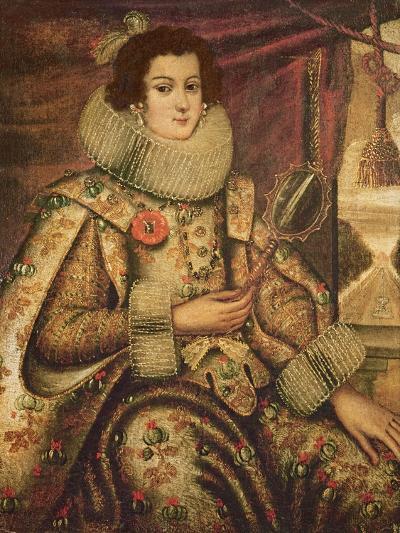 Margaret of Austria (1522-86) Duchess of Parma--Giclee Print